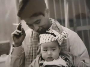 父と幼い私