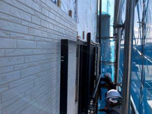 壁の雨漏り修理